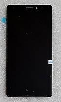 Модуль (сенсор+дисплей) для Huawei MATE S (CRR-L09) чорний, фото 3