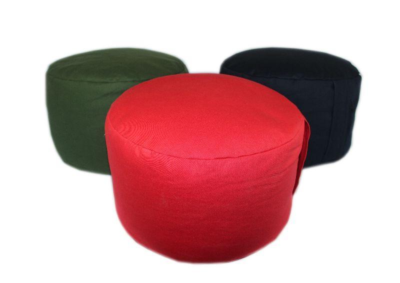 Сиденье «ДЗАФУ» для медитации, тк.Саржа (с гречневой шелухой)
