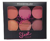 Румяна Sleek Powder Blush (палитра 4шт.), фото 1