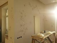 Профессиональная роспись потолков ручной работы