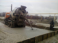Доставка бетона миксером марки М100 класс прочности В7,5 , пластичность П3