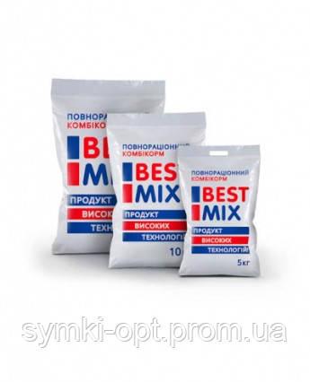 Комбикорм для перепелов ПК BM P 8152 Best Mix от 0 до 6 недель (Откорм)