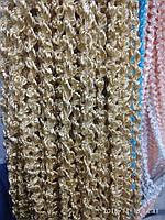 Спиральные шторы (кисея) с люрексом 300Х300, фото 1
