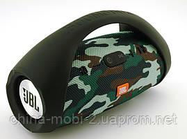 Jbl boombox mini 40w копия, bluetooth колонка с fm mp3, камуфляжная, фото 3