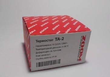Терморегулятор Zoom TA 2 механический, фото 2