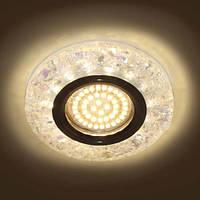 Встраиваемый светодиодный светильник (точечный) Feron 8585-2 LED с подсветкой, фото 1