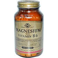 Витамин В6 (Vitamin B6), Solgar, 100 мг, 100 таблеток