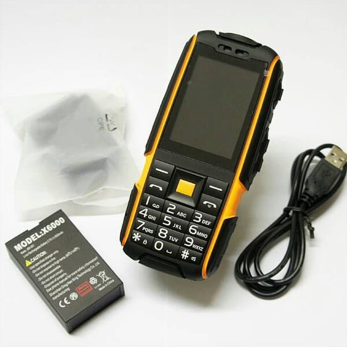 Телефон противоударный Land Rover Jeep X6000 Orange IP54
