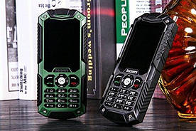 Телефон противоударный Land Rover Discovery S6 (M8) Green IP54