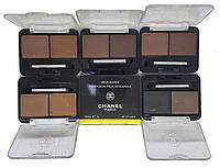 Тени для бровей Chanel (палитра 6 шт.)