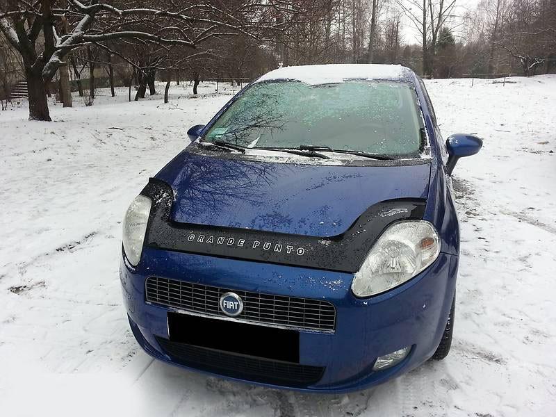 Дефлектор капота (мухобойка) Fiat Grande Punto (199) с 2005 г.в.