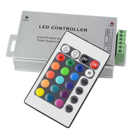 Контроллер RGB 24A RF 12V 288W 24 кнопки, фото 2