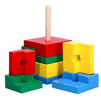 Пірамідка Головоломка 8 їв., фото 1
