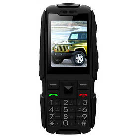 Телефон противоударный Land Rover Jeep X6000 Black