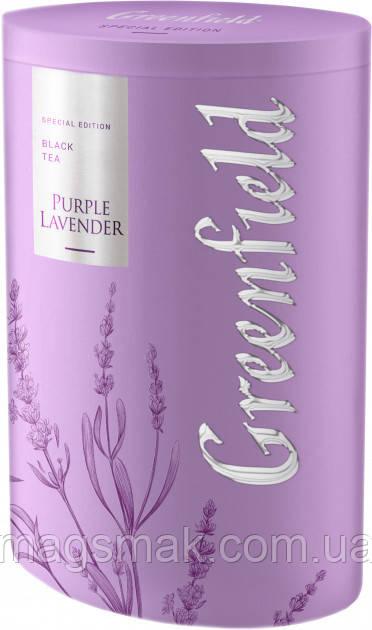 Чай чёрный листовой Greenfield Purple lavender 100 г