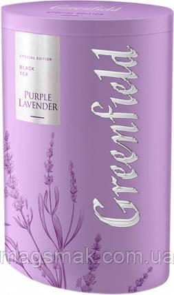 Чай чёрный листовой Greenfield Purple lavender 100 г, фото 2