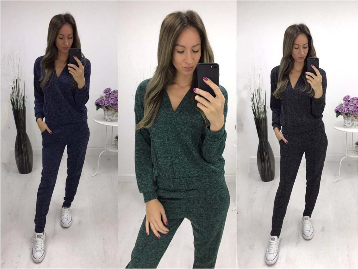 64ecc15c Женский прогулочный костюм из ангоры софт теплый - RUSH STORE интернет-магазин  женской одежды в