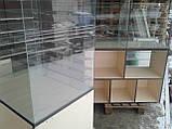 Витрины торговые ДСП б/у, Стеклянные витрины б у, торговые прилавки ДСП б/у, витрина под стеклом б у, фото 5