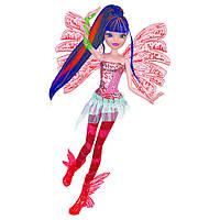 Шарнирная кукла Винкс Муза Sirenix Color-Change Hair из серии Делюкс