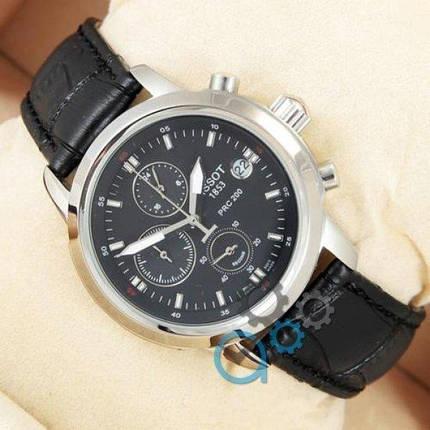 Часы наручные Tissot quartz Chronograph Black/Silver/Black, фото 2