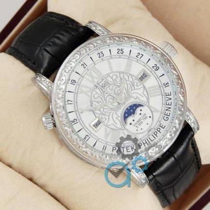 Часы наручные Patek Philippe Grand Complications 6002 Sky Moon Black-Silver-White, фото 2