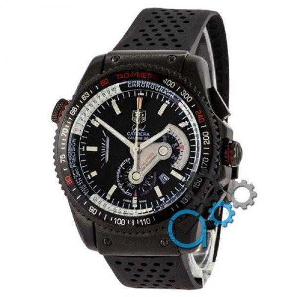 Часы наручные Tag Heuer Grand Carrera Calibre 36 RS Caliper Rubber All Black