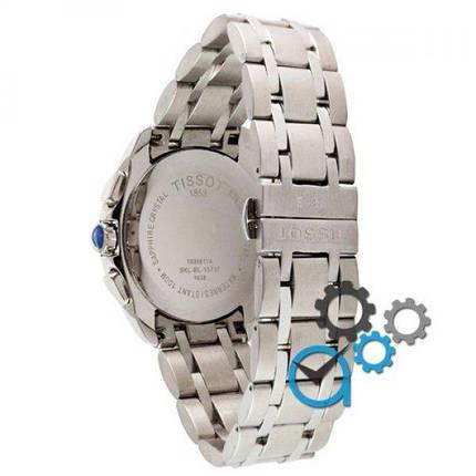 Часы наручные Tissot T-Classic Couturier Chronograph Steel Silver-Black, фото 2