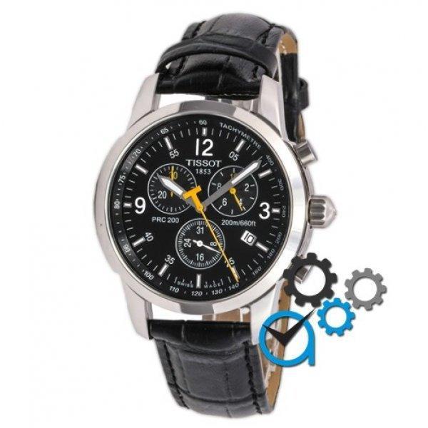 Часы наручные Tissot T-Sport PRC 200 Chronograph Black-Silver-Black-Yellow