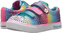 Скетчерсы для девочки Skechers Kids' Twinkle Breeze 2.0-Sunshine Sneaker (USA оригинал), 3 ам.размер, фото 1