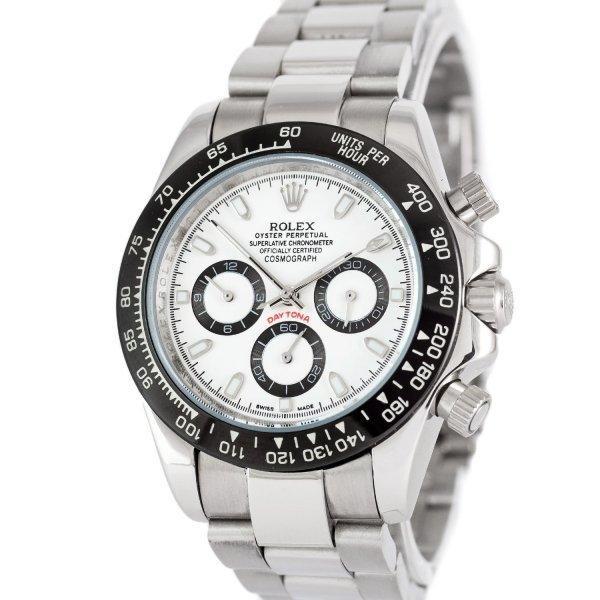 Часы наручные Rolex Cosmograph Daytona AAA Silver-Black-White-Black