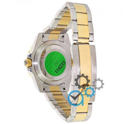 Часы наручные Rolex Submariner AAA Date Silver-Gold-Black, фото 2