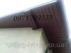 Софіти, Софити, підшивка даху пвх софітом Бризу Bryza, АСКО ASKO, Будмат BudMat польща виробник