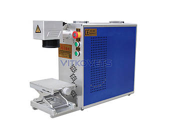 Портативный лазерный маркер JN-202 (100x100), 20W воздушное охлаждение