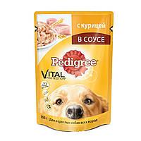 Pedigree (Педигри) консерва С курицей в соусе для взрослых собак всех пород 100 г