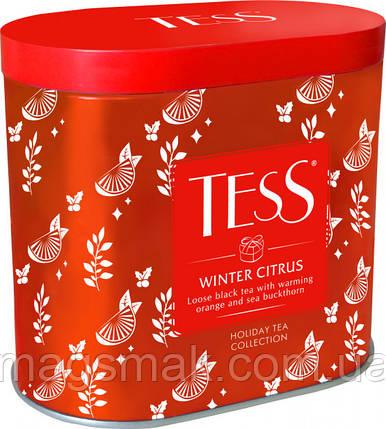Чай чорний листовий TESS Winter Citrus 100 г, фото 2
