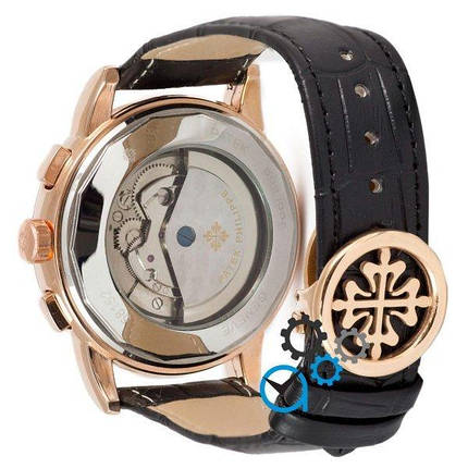 Часы наручные Patek Philippe Grand Complications Tourbillon AA Black-Gold-White, фото 2