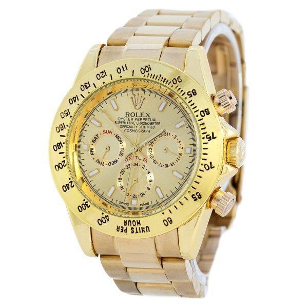 Часы наручные Rolex Daytona AA Men Gold