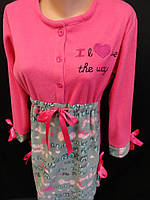 Теплые ночные рубашки из флиса на зиму, фото 1