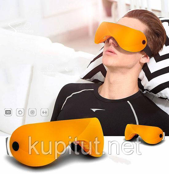 Аппарат (очки-массажёр) цветоимпульсной терапии для глаз Yashicoral MC-803