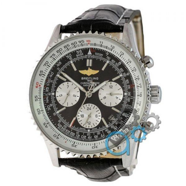 Часы наручные Breitling Silver-White-Black CL
