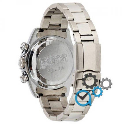 Часы наручные Rolex Daytona AA Men Silver-White, фото 2