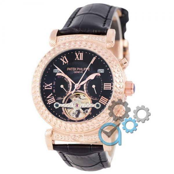 Часы наручные Patek Philippe Grand Complications Power Tourbillon Black-Gold-Black
