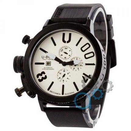 Часы наручные U-Boat Italo Fontana All Black-White-Black, фото 2