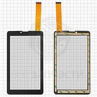 Сенсорный экран для планшетов Irbis TZ63;183 мм, 104 мм, 30 pin, емкостный, черный,
