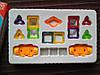 Магнитный конструктор Mini magical magnet 32 дет., магнитный конструктор magformers, magnetics, Magnetic Block, фото 10