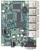Плата - мережевий комутатор Ethernet (Без корпуса, без БЖ) RB450 MIKROTIK