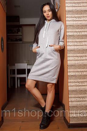 Женское спортивное платье из трехнитки (Венди mrb), фото 2