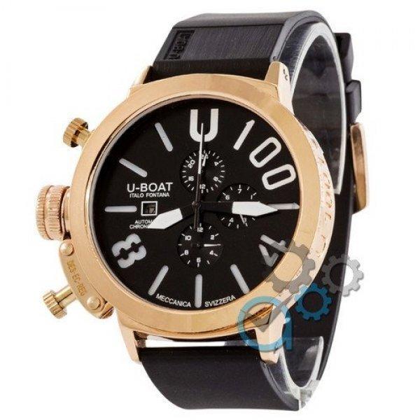 Часы наручные U-Boat Italo Fontana Gold-Black-White
