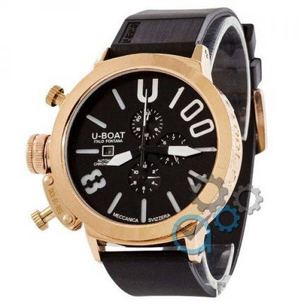 Часы наручные U-Boat Italo Fontana Gold-Black-White, фото 2