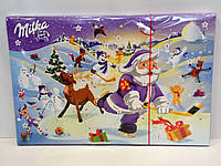 Детский шоколадный календарь Milka 200г